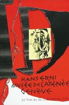 Erni Hans. Hans Erni Musée de l'Athénée Genève. Year: 1974.