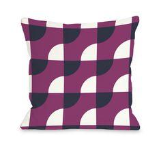 Janelle Geometric Throw Pillow