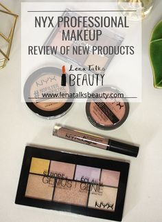 NYX Professional makeup new products review by Lena Talks Beauty Product Review, New Product, Nyx Lip Lingerie, Beauty Review, Professional Makeup, Eyeshadow, Posts, Blog, Products