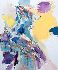 Käthe Schönle _ move, 2014 oil / acrylic on canvas, 260 x 210 cm Oil, Abstract, Canvas, Artwork, Painting, Summary, Tela, Work Of Art, Auguste Rodin Artwork