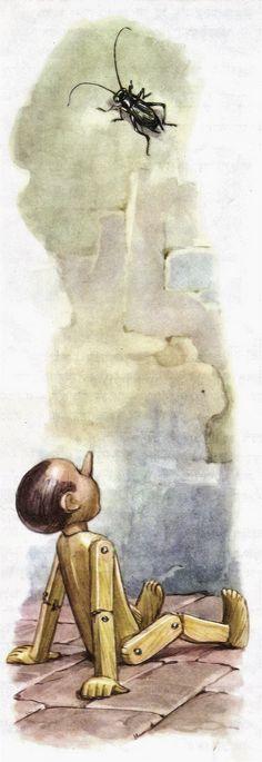 Pinnochio - illustrated by Libico Maraja (8)   Flickr - Photo Sharing!