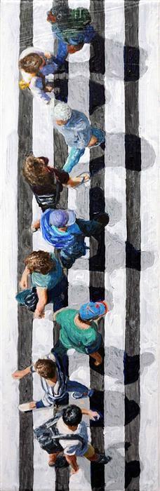 Pedestrians 2014-21 by Jim Zwadlo