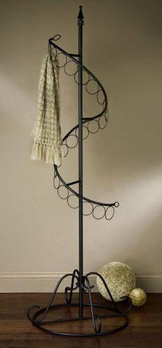 "Amazon.com - 72"" Spiral Scarf Tree Retail Rack Display - Coat Stands"