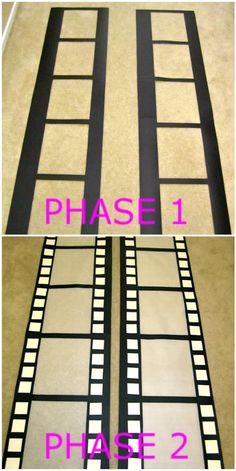 { DIY } Photo Booth Backdrop | KateSpanish; for Homecoming Hall Decor - Hollywood Studios                                                                                                                                                                                 Más