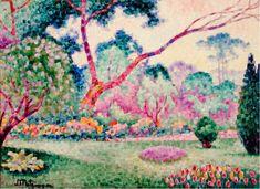 Tableaux sur toile, reproduction de Metzinger, Parc Monceau