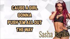 banking lyrics WWE Sasha Banks Theme Song Skys the limit Lyrics Sasha Banks Theme Song, Mercedes Kaestner Varnado, Wwe Sasha Banks, Lyrics, Wonder Woman, Wrestling, Sky, Songs, Superhero