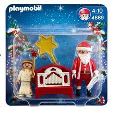 Playmobil – 4889 – Jeu de construction – Père Noël et petit ange