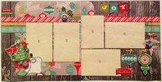 Paper Candie: Scrap Addicts Double Double Class with October Afternoon's Silent Night, Plus Bonus Project