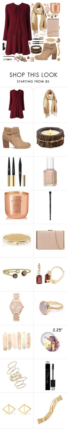 """Slow Jamz"" by anishagarner ❤ liked on Polyvore featuring Chloé, Unpaired, Sole Society, Himalayan Trading Post, Mariah Carey, Yves Saint Laurent, Essie, Tom Dixon, INIKA and Chico's"