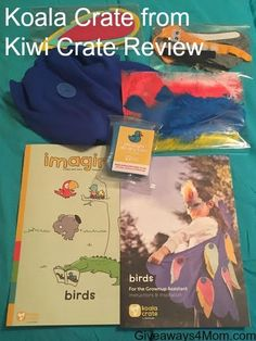 Koala Crate from Kiwi Crate Review http://giveaways4mom.com/2016/08/koala-crate-kiwi-crate-review/ #ad