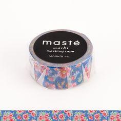 Masté é a autêntica washi tape japonesa para decorar e organizar suas coisas e ideias.  Papel japonês extra fino e ultra resistente. Cola de alta aderência que não descola, não deixa resíduos e permite reposicionamento. Formato compacto (apenas 35mm de diâmetro).  Largura: 15mm Comprimento: 7m Diâmetro: 35mm