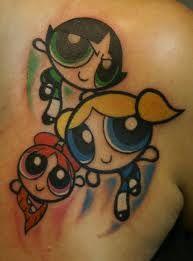 PowerPuff Girls tattoo - Google Search