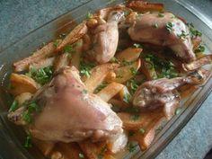 poulet et pommes de terre roties au four - Amour de cuisine