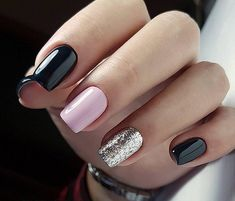Purple Nail Designs For Short Nails. Do you want to try to go to Build it yourself nail art however where do you begin? First of all you must do is get some fundamental nail art specific tools. Hair And Nails, My Nails, Cute Gel Nails, Nagellack Design, Nagel Hacks, Nails Polish, Super Nails, Nagel Gel, Gorgeous Nails