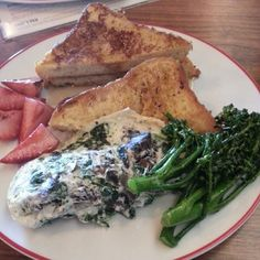 Scrambled Egg Whites, Broccolini, and Toast at brunch (Photo Credit: Egg Whites, Scrambled Eggs, Photo Credit, Farmer, Toast, Brunch, Photos, Instagram, Food