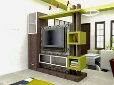 modern TV cabinet Wall units furniture designs ideas for living room Living Room Partition Design, Room Partition Designs, Living Room Divider, Living Room Tv, Wall Partition, Tv Unit Furniture, Modern Tv Wall Units, Tv Cabinet Design, Rack Tv