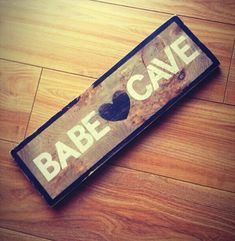 If he gets a man cave - I get a babe cave! (or a room that could be converted to either...)