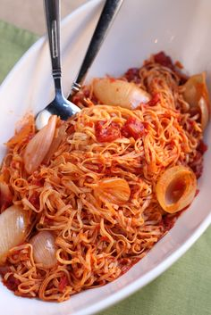 Butter, Onion and Tomato Pasta Sauce