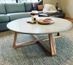 Our cross leg Concrete and Reclaimed Timber coffee table looking awesome in its new Melbourne home, thanks for the photo guys! Www.grummie.com #grummie#concretefurnituredesign design#concretefurniture#concrete#cafe#cafefurniture#coffee#coffeetable#interior#interiordesign#surfcoast#Melbourne#torquay#design#custom#handmade#australianmade#furniture#geelongcreatives#makerslane