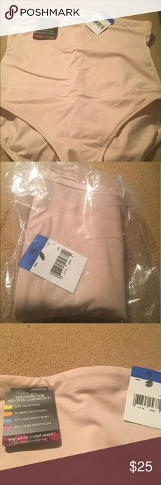 MaidenForm Beige Tummy Solutions Size XL MaidenForm Beige Tummy Solutions High Waisted Under Garment Size XL. Style # 1854. Helps to provide extra firmness to your waist and tummy for a more smooth look. It is brand new with tags and original plastic bag. Maidenform Intimates & Sleepwear Shapewear