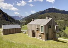 Acutely Pitched Eco Abodes : Macro Micro Studio