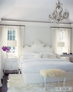 Master Bedroom - Elle Decor