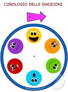 Orologio delle emozioni per bambini