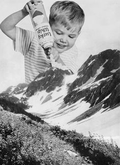 Uncredited. ° (This would be really wrong if he was putting Lucky Whip on the Grand Tetons.)