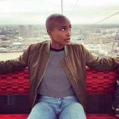 Bald and Beautiful Women - 19 Stunning Black Women Whose Bald Heads Will Leave You Speechless