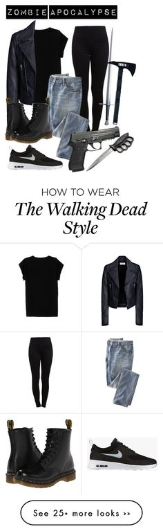 """The Walking Dead (Zombie Apocalypse) Outfit"" by whispers-in-the-dark01 on Polyvore"