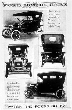 1908 Ford Ad. More Car Pictures:  http://carpictures.us
