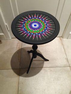 Mandala bijzet tafel