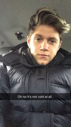 Niall posted this picture on his snapchat!