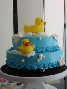 rubber ducky baby shower girl | Baby shower--- rubby duckies — Birthday Cakes