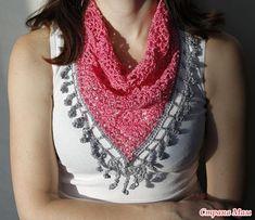Oro Crochet: Delicious bufanda !!!
