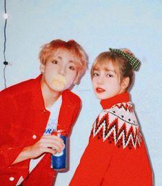Korean Couple, Best Couple, Kpop Couples, Cute Couples, South Korean Girls, Korean Girl Groups, Bts Girlfriends, 17 Kpop, Bts Header
