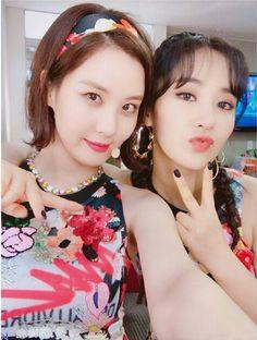 SNSD : YuRi   유리 : Instagram Update :  With SeoHyun 서현 Instagram Update : M CountDown : Holiday CmeBack