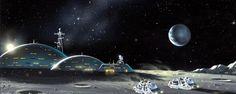 Desde la llegada de su nuevo director, la Agencia Espacial Europea no ha ocultado que entre sus planes pasa visitar de nuevo la Luna. No sólo para explorarla, si no también para construir una base lunar, sucesora de la Estación Espacial Internacional... #astronomia #ciencia
