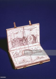 This ivory sundial in the form of a book was made by Paul Reinmann (1557-1609) of Nuremberg, Germany, and is inscribed with the words: 'Paulus Reinman Norimbergae Faciebat'. When open, the shadow of the string shows hours am and pm on the interior horizontal and vertical faces of the dial. There are four subsidiary dials on which the indications are given by the shadows of the tips of the four short styles provided. These show the time of day in ordinary, Italian, Babylonian and Jewish…