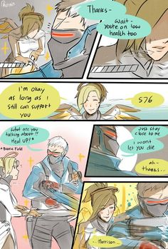 Soldier 76 and Mercy
