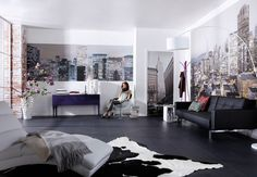 Photo Wallpaper Living Room