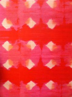 Little Green Notebook: Watercolor Wallcoverings Textile Patterns, Textile Prints, Print Patterns, Wassily Kandinsky, Shibori, Fabric Wallpaper, Wallpaper Desktop, Watercolor Wallpaper, Red Wallpaper