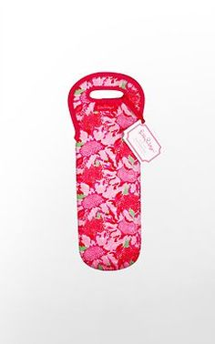 Omg Lilly Pulitzer Wine tote. Love