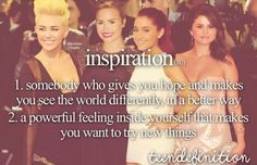 Inspiration Somebody who gives you hope and makes you see the world differently, in a better way A powerful feeling inside yourself that makes you want to try new things Teen Posts, Teenager Posts, Teen Definition, My Heart Is Heavy, Teen Dictionary, English Dictionaries, Unique Words, Just Girly Things, Best Friend Quotes