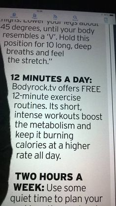 www.bodyrock.tv got a mention in the Lifestyle section of the Daily www.Mirror.co.uk A Huge UK paper today !!