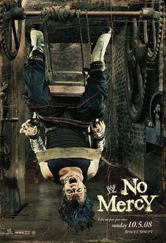 WWE No Mercy 2008 (2008) | http://www.getgrandmovies.top/movies/27828-wwe-no-mercy-2008 | No Mercy (2008) was a PPV which took place on October 5, 2008 at the Rose Garden in Portland, Oregon. It was the 11th and final annual No Mercy event and starred wrestlers from the Raw, SmackDown and ECW brands.  The first main event featured World Heavyweight Champion Chris Jericho defending his championship from Shawn Michaels in a ladder match. The other main event featured defending WWE Champion…