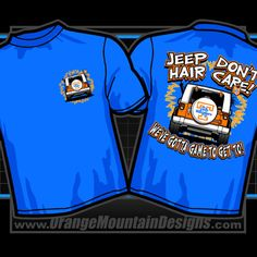Mountain Designs, Don't Care, Jeep, Hair Care, Orange, Lady, Jeeps, Hair Care Tips, Hair Makeup