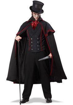 Victorian Killer Jack the Ripper Costume - Halloween Costumes at Escapade™ UK