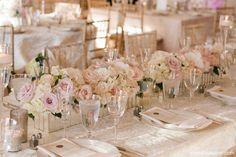 Romantic, blush summer roses Rosecliff Mansion, Newport RI Great Gatsby www.stoneblossom.com