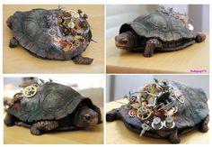 Steampunk Turtle by sodapop573 on DeviantArt
